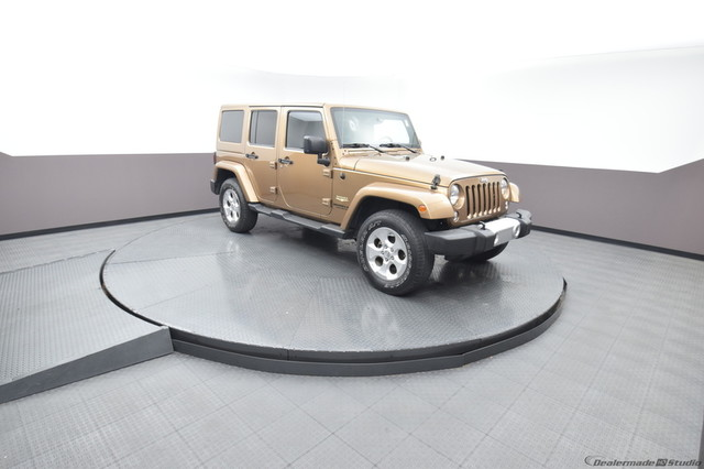 Pre-Owned 2015 Jeep Wrangler Unlimited Sahara 4WD SP Honda 918-491-0100