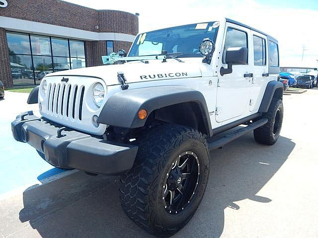 Pre-Owned 2014 Jeep Wrangler Unlimited Rubicon | BOB HOWARD DODGE 405-936-8900