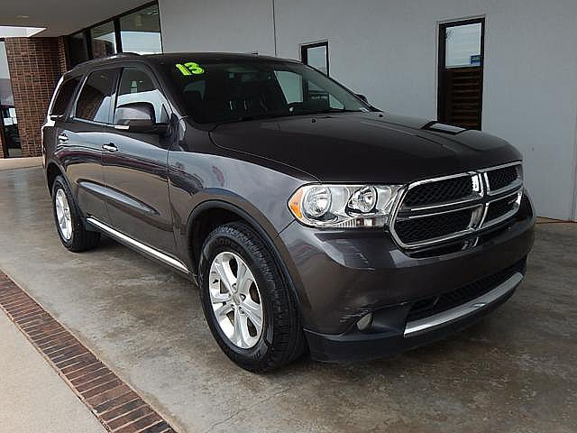 Pre-Owned 2013 Dodge Durango Crew | BOB HOWARD DODGE 405-936-8900 | 3RD ROW SEATING | TOW PACKAGE |