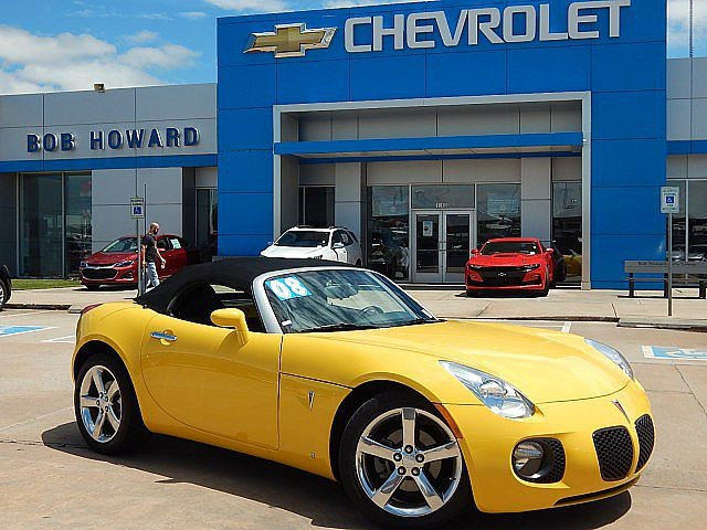 Pre-Owned 2008 Pontiac SOLSTICE | BOB HOWARD CHEVROLET 405-748-7700 | ONE OF A KIND | GXP | LEATHER | CHROME WHEELS | 6 SPEED | TURBO | HARD TO FIND |