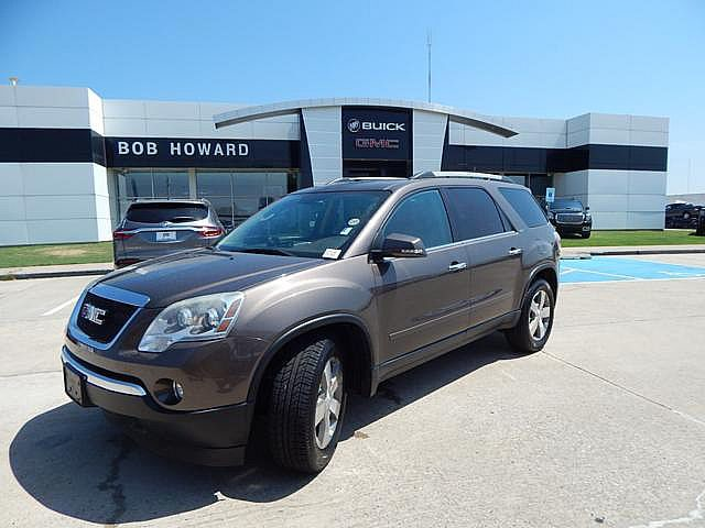 Pre-Owned 2011 GMC Acadia SLT1 | BOB HOWARD BUICK GMC 405.936.8800 | LEATHER | CLEAN CARFA