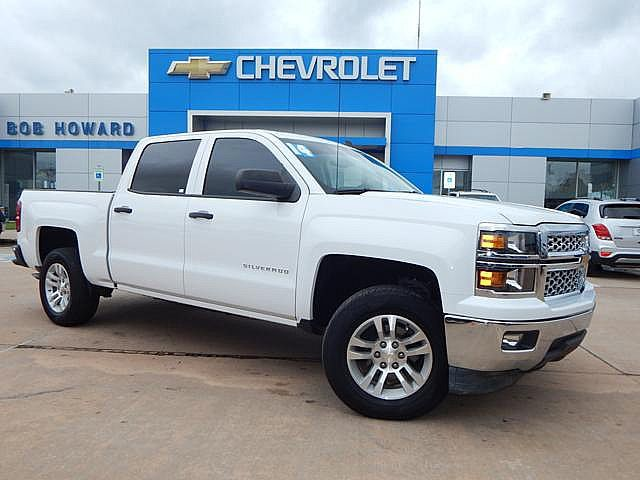 Pre-Owned 2014 Chevrolet SILVERADO | BOB HOWARD CHEVROLET 405-748-7700 | CLEAN CARFAX | BLUETOOTH | REAR-VIEW CAMERA |