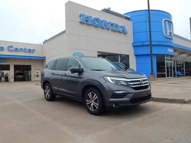 Pre-Owned 2016 Honda Pilot EX-L | LEATHER | 3RD ROW | 405-753-8700 | Honda STORE!