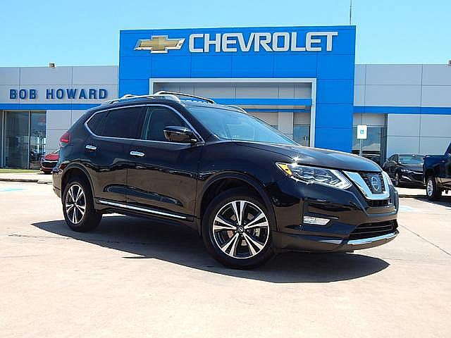 Pre-Owned 2017 Nissan Rogue | BOB HOWARD CHEVROLET 405-748-7700 | AWD | HEATED STEERING WHEEL | NAV | PANO ROOF |