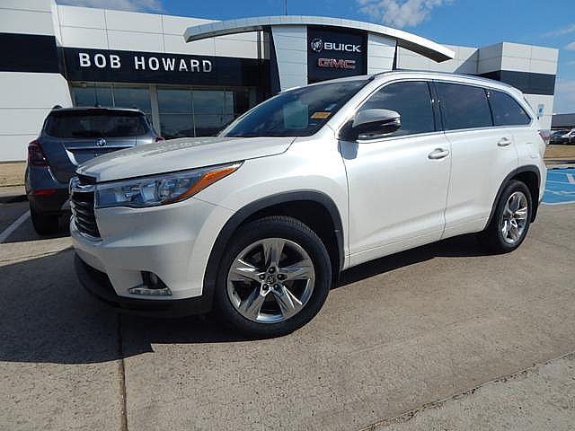 Used 2016 Toyota Highlander Limited Bob Howard Buick Gmc 405 936 8800 Awd