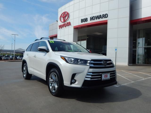 Used 2017 Toyota Highlander Limited Awd Cpo