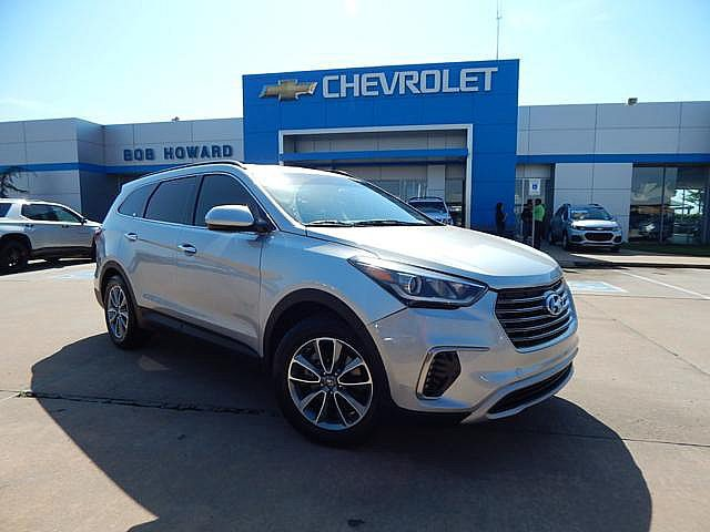 Pre-Owned 2017 Hyundai SANTA FE | BOB HOWARD CHEVROLET 405-748-7700 | GREAT MPGS | ROOM FOR FIVE | FIVE STAR SAFTEY | PREMIUM WHEELS | CHECK IT OUT!!! |