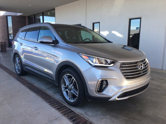 Pre-Owned 2018 Hyundai Santa Fe Limited Ultimate | BOB HOWARD DODGE 405-936-8900 | LEATHER | ALLOYS | BACK UP CAMERA