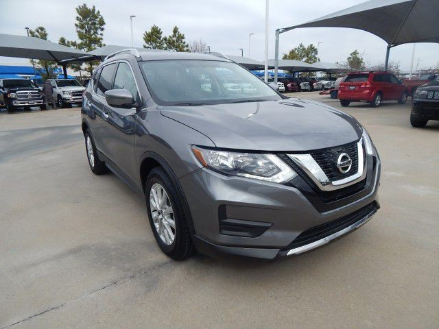 Used 2017 Nissan Rogue Sv Heated Seats Blind Spot Alert