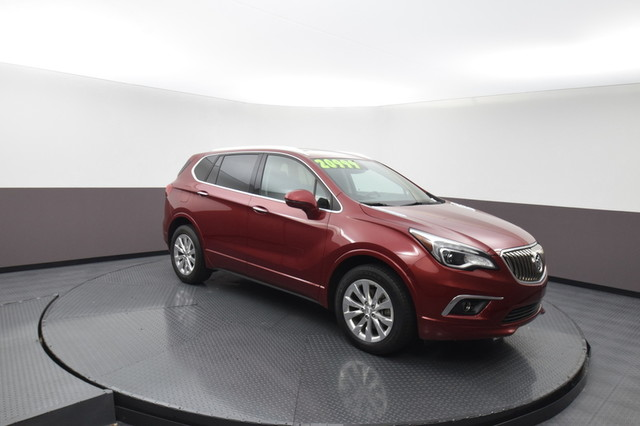 Pre-Owned 2017 Buick Envision Essence SP Honda 918-491-0100