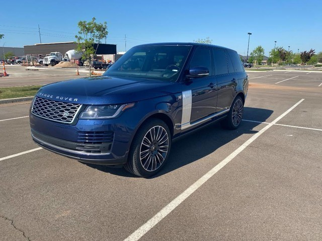 Pre-Owned 2019 Land Rover Range Rover SUPER CHARGED | BOB HOWARD DODGE 405-936-8900