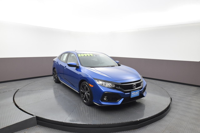 Pre-Owned 2018 Honda Civic Hatchback Sport SP Honda 918-491-0100