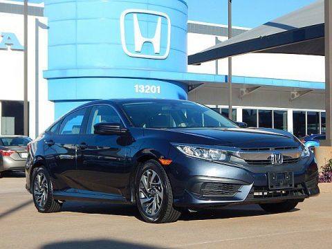 Pre-Owned 2018 Honda Civic Sedan EX | BH Honda! | 405-753-8700