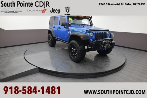Pre-Owned 2016 Jeep Wrangler Unlimited Sport | SOUTH POINTE DODGE
