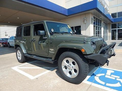 Pre-Owned 2015 Jeep Wrangler Unlimited Sahara| ONLY AT BOB HOWARD ACURA CALL TODAY AT 405-753-8770!|