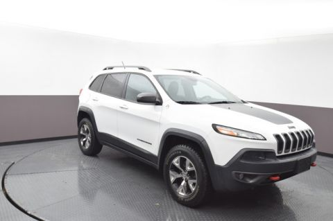 Pre-Owned 2015 Jeep Cherokee Trailhawk 4WD SP Honda 918-491-0100