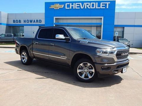 Pre-Owned 2019 Ram RAM LIMITED | BOB HOWARD CHEVROLET 405-748-7700 | RAM LIMITED | AIR RIDE | NAVIGATION | PARK AID | HEATED/COOLED SEATS | LOADED LIMITED!! |