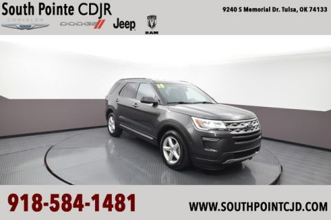 Pre-Owned 2018 Ford Explorer XLT | SOUTH POINTE CJD