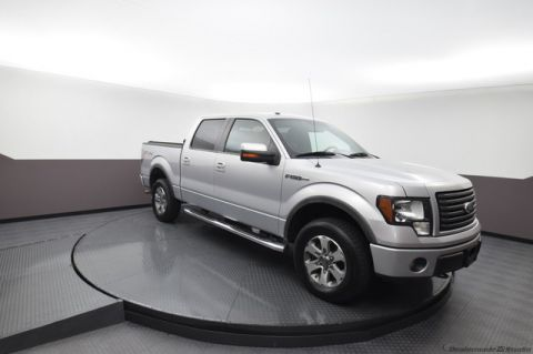 Pre-Owned 2011 Ford F-150 FX4***5.0L V8***RUNNING BOARDS***LOW MILES***SP CHEVY 918-481-8000