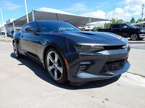 Pre-Owned 2017 Chevrolet Camaro SS***455HP***SUNROOF***LOW MILES***SP CHEVY 918-481-8000