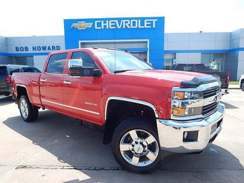 Pre-Owned 2016 Chevrolet SILVERADO 2500 HD | BOB HOWARD CHEVROLET 405-748-7700 | LTZ | 2500 HD | DURAMAX 6.6L TURBO DIESEL | ALLISON TRANSMISSION |