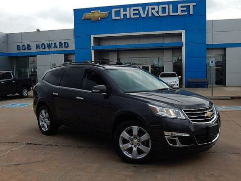 Pre-Owned 2016 Chevrolet TRAVERSE | BOB HOWARD CHEVROLET 405-748-7700 | 2nd ROW BUCKETS | HEATED SEATS | BACK UP CAMERA |