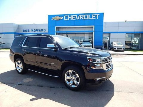 Pre-Owned 2016 Chevrolet TAHOE | BOB HOWARD CHEVROLET 405-748-7700 | LTZ | ONE OWNER | MAHOGANY