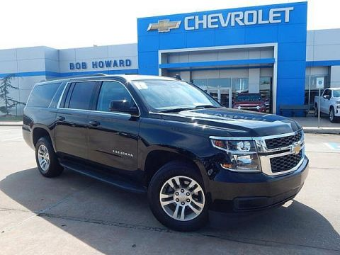 Pre-Owned 2018 Chevrolet SUBURBAN | BOB HOWARD CHEVROLET 405-748-7700 | NAVIGATION | MIDDLE ROW BUCKETS | LEATHER | THIRD ROW | 5.3L V8 |
