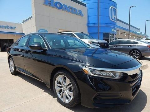 Pre-Owned 2018 Honda Accord LX 1.5T SP Honda 918-491-0100