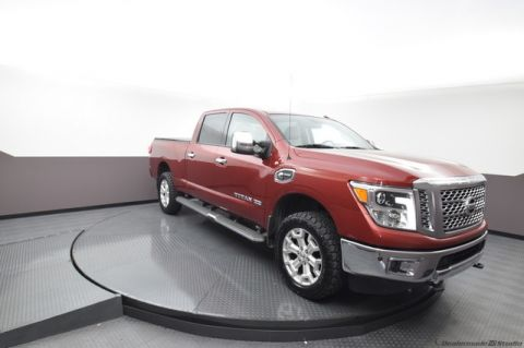 Pre-Owned 2016 Nissan Titan XD SL***LEATHER***DIESEL***NAVIGATION***HEATED SEATS***SP CHEVY 918-481-8000