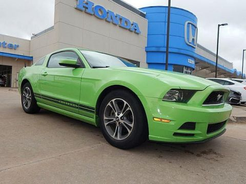 Pre-Owned 2014 Ford Mustang V6 Premium | LEATHER | BH Honda! | 405-753-8700