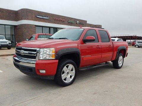 Pre-Owned 2008 Chevrolet Silverado 1500 LT w/1LT | BOB HOWARD DODGE 405-936-8900