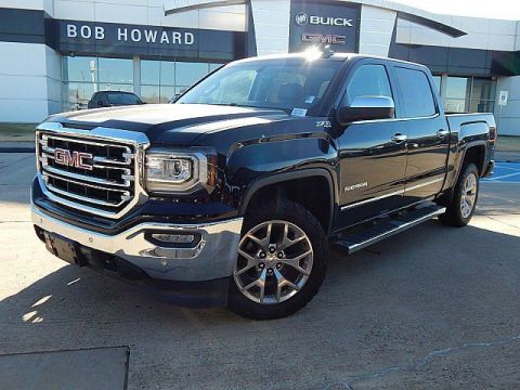 Pre-Owned 2017 GMC Sierra 1500 SLT WITH EVERY OPTION!! REMOTE START!! NAVI!!! SUNROOF!!! BEDLINER!!! CLEAN CARFAX AND ONE OWNER!!!! 6.2 LITER V8!!!