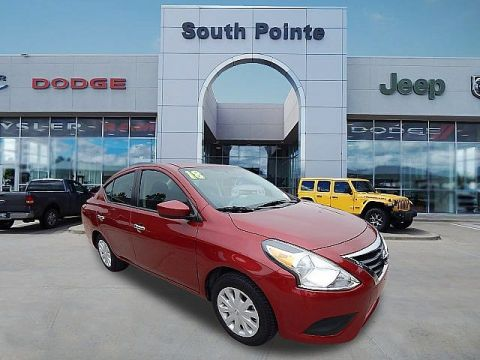 Pre-Owned 2018 Nissan Versa Sedan SV | SOUTH POINTE CJD