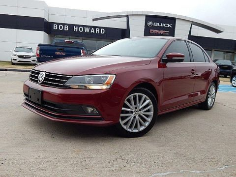 Pre-Owned 2016 Volkswagen Jetta Sedan 1.8T SEL! BACK UP CAMERA! BLUETOOTH! SUNROOF! LEATHER SEATS! CALL 405.936.8800