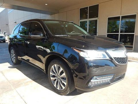 Pre-Owned 2016 Acura MDX | w/Tech | 1 OWNER | CHECK IT OUT ONLY AT BOB HOWARD ACURA CALL TODAY AT 405-753-8770!|