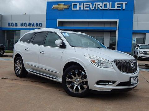 Pre-Owned 2016 Buick ENCLAVE | BOB HOWARD CHEVROLET 405-748-7700 | LEATHER | MIDDLE ROW BUCKETS | SUN ROOF | NAVIGATION | CLEAN CAR FAX | ONE OWNER | GREAT FAMILY SUV |
