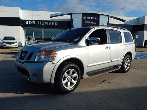 Pre-Owned 2012 Nissan Armada SL! GREAT CASH CAR! FINANCING AVAILABLE! LEATHER SEATS! BACK UP CAMERA! CALL 405.936.8800 FOR MORE INFO!
