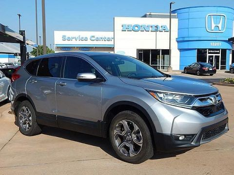 Pre-Owned 2018 Honda CR-V EX-L | NAVIGATION | ALL WHEEL DRIVE! | BH Honda! | 405-753-8700
