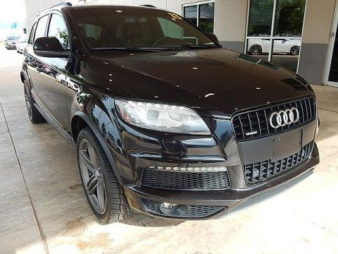 Pre-Owned 2013 Audi Q7 3.0T S line Prestige | LUXURY AT ITS FINEST | ONLY AT BOB HOWARD ACURA CALL TODAY AT 405-753-8770!|